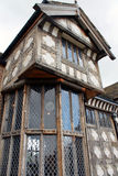 Fully restored Tudor Manor house. Fully restored Tudor Manor house in England Royalty Free Stock Photo