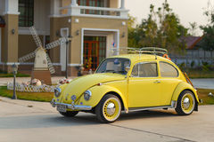 Fully restored Volkswagen Beetle model year 1969 Stock Images