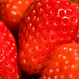 Fully riped strawberries Royalty Free Stock Images