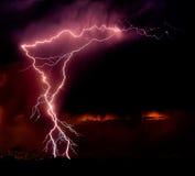 Fulmine africano Immagini Stock
