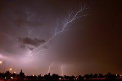 Fulmine 4 di Joburg Fotografia Stock Libera da Diritti
