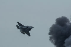 Fulmine II di Lockheed Martin F-35 Fotografia Stock Libera da Diritti
