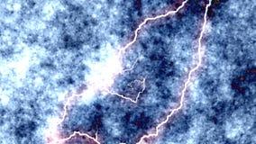 Fulmine - scarica elettrica in laboratorio video d archivio