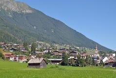 Fulpmes, Stubaital, Tirol, Áustria imagem de stock royalty free