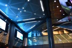 Fulton Center är delen av $1 4 miljard projekt vid den storstads- trans.myndigheten Fotografering för Bildbyråer