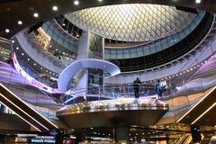 Fulton Center är delen av $1 4 miljard projekt vid den storstads- trans.myndigheten Royaltyfria Foton
