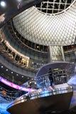 Fulton Center är delen av $1 4 miljard projekt vid den storstads- trans.myndigheten Arkivbilder