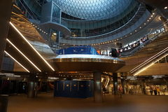 Fulton Center NYC 5. Designed by Grimshaw Architects in collaboration with Arup and worldrenowned designer James Carpenter, who is celebrated for his work with Stock Image