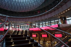 Fulton Center NYC 7. Designed by Grimshaw Architects in collaboration with Arup and worldrenowned designer James Carpenter, who is celebrated for his work with Stock Photography