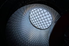 Fulton Center NYC 10. Designed by Grimshaw Architects in collaboration with Arup and worldrenowned designer James Carpenter, who is celebrated for his work with Stock Photography
