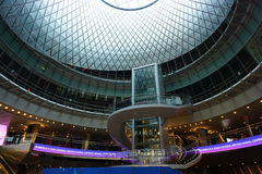 Fulton Center NYC 32. Designed by Grimshaw Architects in collaboration with Arup and worldrenowned designer James Carpenter, who is celebrated for his work with Stock Photo