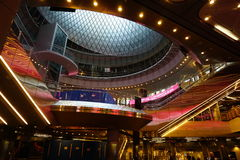 Fulton Center NYC 37. Designed by Grimshaw Architects in collaboration with Arup and worldrenowned designer James Carpenter, who is celebrated for his work with Stock Photo