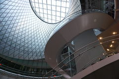 Fulton Center NYC 60. Designed by Grimshaw Architects in collaboration with Arup and worldrenowned designer James Carpenter, who is celebrated for his work with Royalty Free Stock Photography