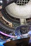 Fulton Center is part of a $1.4 billion project by the Metropolitan Transportation Authority Stock Images