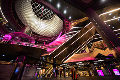 Fulton Center is part of a $1.4 billion project by the Metropolitan Transportation Authority Royalty Free Stock Photos