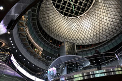 Fulton Center is part of a $1.4 billion project by the Metropolitan Transportation Authority Royalty Free Stock Photo