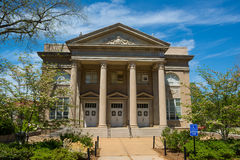 Fulton Chapel at the University of Mississippi royalty free stock photo