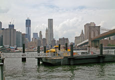 Fulton Ferry Landing Brooklyn New York USA Royalty Free Stock Photography