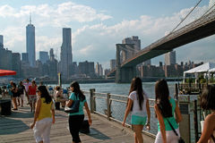 Fulton Ferry Landing Brooklyn New York USA Stock Photography