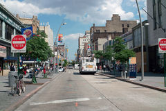 Fulton Mall Brooklyn New York City USA Royalty Free Stock Photo