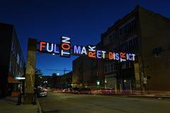 Fulton Market fotografia stock