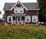 Fulton okręgu administracyjnego gospodarstwa rolnego dom Fotografia Stock