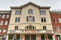 Fulton Opera House, Lancaster Pennsylvania Royalty Free Stock Images
