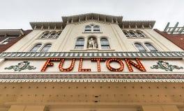 Fulton Opera House, Lancaster Pennsylvania Stock Photo
