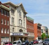 Fulton Theatre, situado em Lancaster do centro, PA imagem de stock