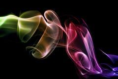 Fumée abstraite Photos libres de droits