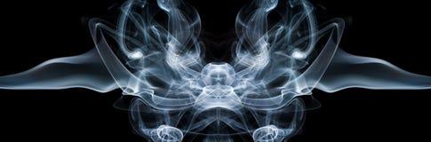 Fumée abstraite d'isolement. Images stock