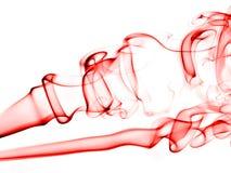 Fumée abstraite I (blanc) Photos libres de droits