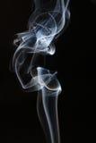 Fumée blanche abstraite. images libres de droits