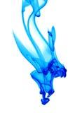 Fumée bleue Image stock