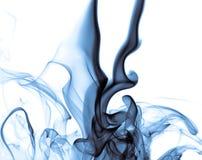 Fumée bleue Photo libre de droits