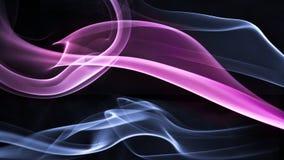 Fumée colorée image stock