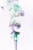 Fumée colorée Images libres de droits