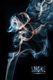 Fumée colorée Photo stock