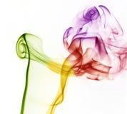 Fumée colorée Photographie stock libre de droits