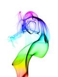 Fumée colorée abstraite Images stock