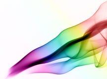 Fumée colorée d'abstrait Photographie stock libre de droits