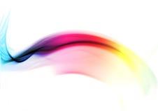 Fumée colorée d'arc-en-ciel Photo libre de droits
