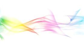 Fumée colorée d'arc-en-ciel Image stock