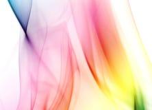 Fumée colorée d'arc-en-ciel Image libre de droits
