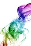 Fumée d'arc-en-ciel Photographie stock