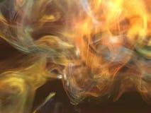 Fumée d'arc-en-ciel images libres de droits