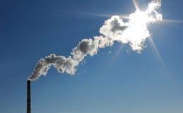Fumée d'une pipe Photo libre de droits