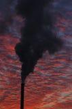 Fumée d'usine Photographie stock libre de droits