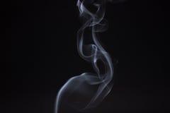 Fumée de bâton d'encens d'isolement Photo libre de droits