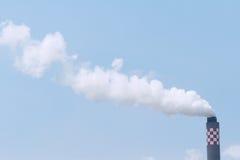 Fumée de cheminée Photos libres de droits